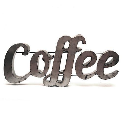 Rustic Arrow ''Coffee'' Wall Decor