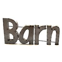 Rustic Arrow ''Barn'' Wall Decor