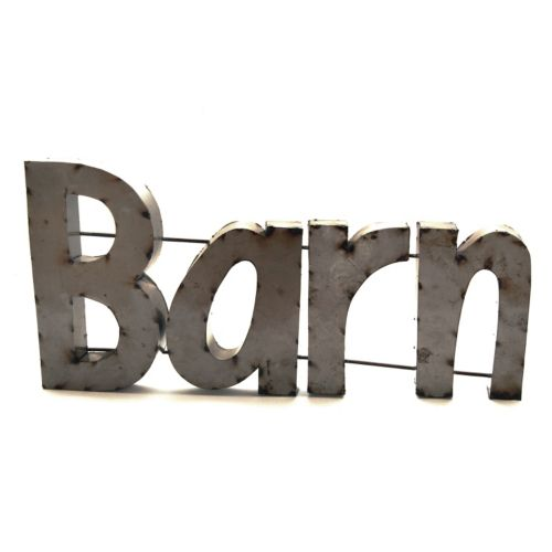 Rustic Arrow ''Barn'' Wall Decor