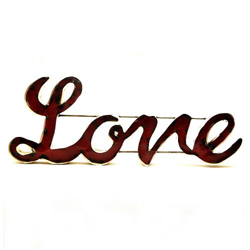 Rustic Arrow ''Love'' Wall Decor