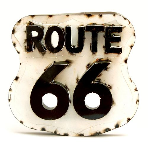 Rustic Arrow ''Route 66'' Wall Decor