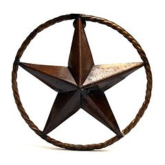 Rustic Arrow Rustic Star Wall Decor