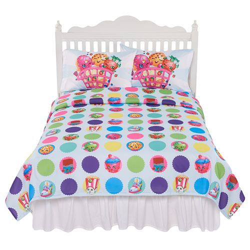 Shopkins 3-piece Sheet Set