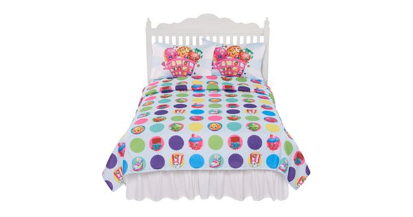 Shopkins 3 Piece Sheet Set