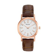 Bulova Women's Leather Watch - 97L121