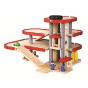 Plan Toys Wood Parking Garage