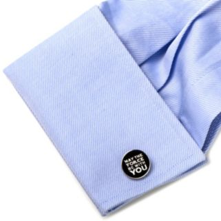 Star Wars May The Force Be With You Cuff Links