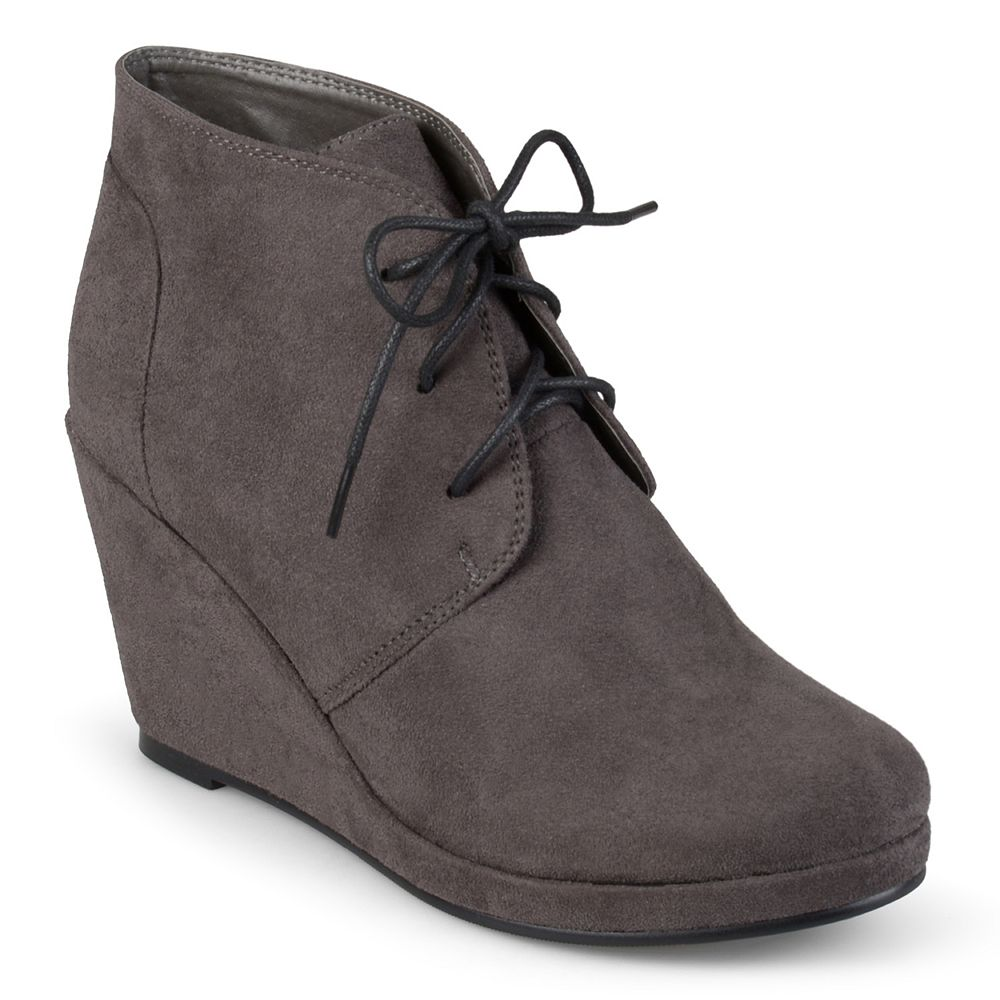 7a3601caef9 Journee Collection Enter Women s Wedge Booties