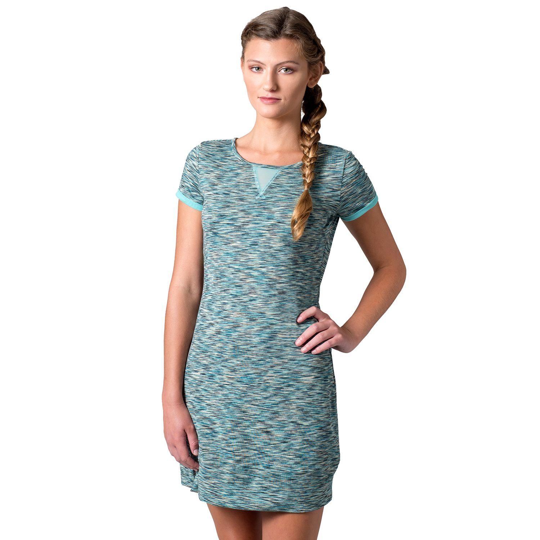 Womens Soybu Monroe Space-Dye T-Shirt Dress