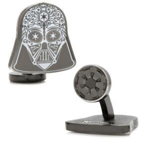 Star Wars Darth Vader Sugar Skull Cuff Links