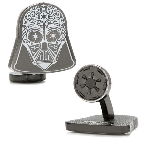 Star Wars Darth Vader Sugar Skull Cuff Links