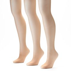 L'eggs Sheer Energy 3 pkControl Top Pantyhose