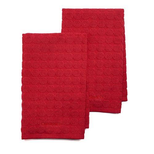 Cuisinart Sculpted Circles 2-pc. Kitchen Towel Set