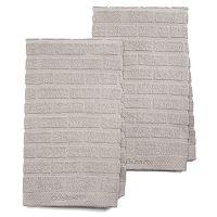 Cuisinart Sculpted Subway Tile 2-pc. Kitchen Towel Set