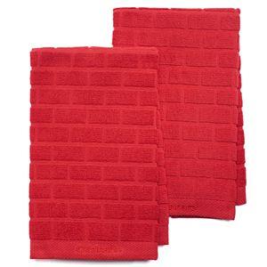 Cuisinart® Sculpted Subway Tile 2-pc. Kitchen Towel Set