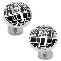 Star Wars Death Star Recessed Matte Cuff Links