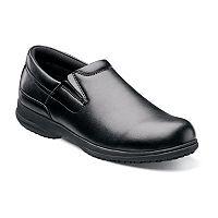 Nunn Bush Sven Slip-Resistant Slip-On Work Shoes