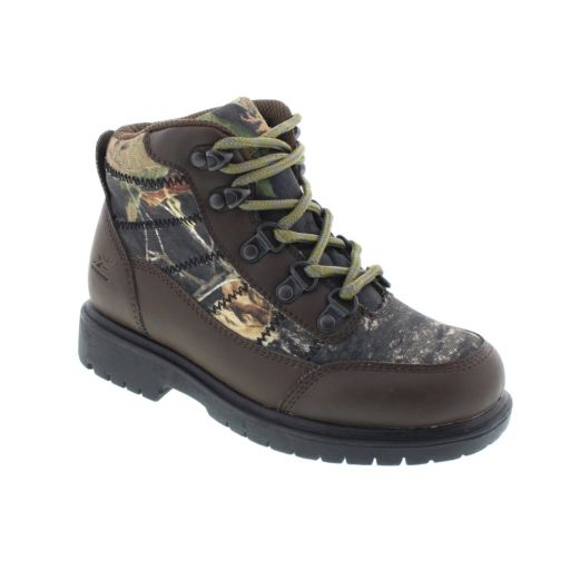 Deer Stags Hunt Boys' Lace-Up Boots