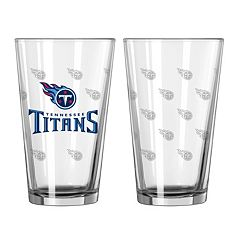 NFL 2 pc Pint Glass Set