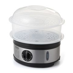 Aroma 5-qt. Two-Tiered Electric Food Steamer