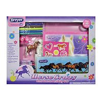 Breyer Stablemates Horse Crazy Real Horse Activity Set