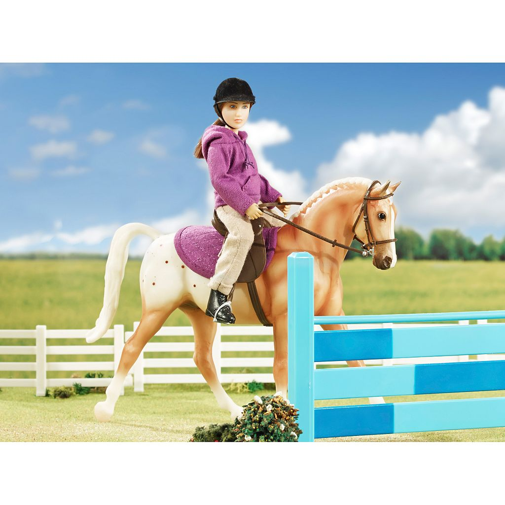 Breyer Classics English Horse & Rider Set