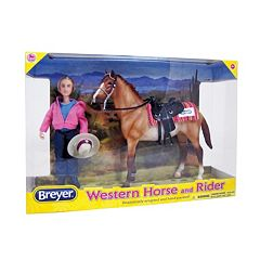 Breyer Classics Western Horse & Rider Set