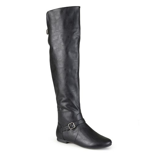 Journee Collection Loft Women's Knee-High Riding Boots