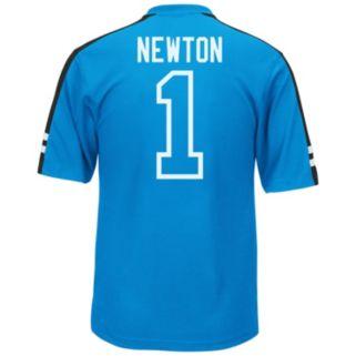 Men's Majestic Carolina Panthers Cam Newton Hashmark Player Top