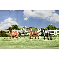 Breyer Stablemates Gentle Giants Draft Horse Set