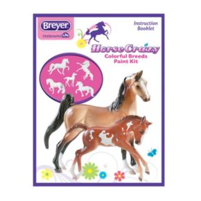 Breyer Stablemates Horse Crazy Colorful Breeds Paint Kit