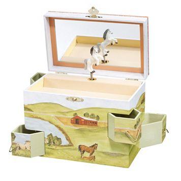 Breyer Enchantmints Hideaway Horse Music & Treasure Box