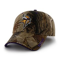 Adult '47 Brand Minnesota Vikings Frost Realtree Camouflage Adjustable Cap