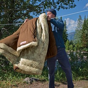 Coleman Autumn Trails Deer Print Sleeping Bag
