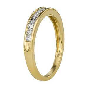 1/2 Carat T.W. Diamond 10k Gold Anniversary Ring
