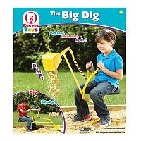 Reeves Toys Big Dig Ride-On Working Crane
