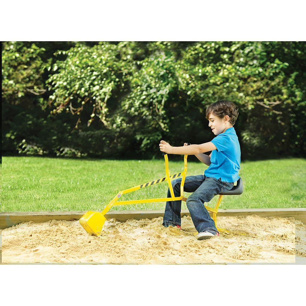 Reeves Toys Big Dig Ride-On Working Crane