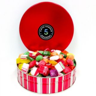 Fifth Avenue Gourmet 2-Pound Old Fashion Candy Holiday Tin
