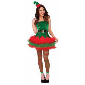Santa's Elf Costume - Adult
