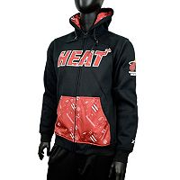 Men's Zipway Miami Heat Signature Basics Hoodie