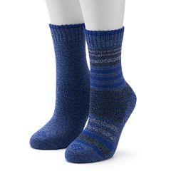 Columbia 2-pk. Striped Crew Socks - Women