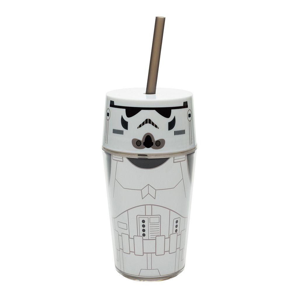 Star Wars Stormtrooper 14-oz. Straw Tumbler by Zak Designs