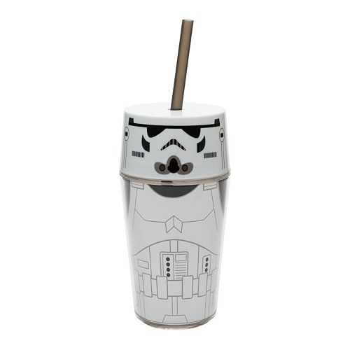 Star Wars Stormtrooper 14-oz. Straw Tumbler by Zak Designs