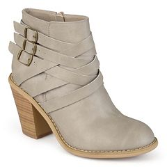 0872d1f4e9cb Journee Collection Strap Women s Ankle Boots
