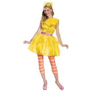 Sesame Street Big Bird Sweetheart Dress Costume - Adult