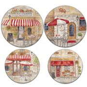 Range Kleen Paris Café 4 pc Electric Burner Cover Set