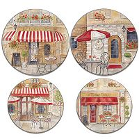 Range Kleen Paris Café 4-pc. Electric Burner Cover Set