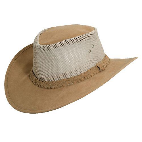 Mesh-Sided Safari Hat - Men