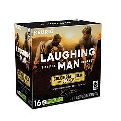 Keurig® K-Cup® Pod Laughing Man Columbia Huila Dark Roast Coffee - 16-pk.