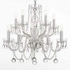 Gallery 10-Light Crystal Chandelier